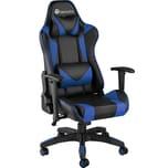 Tectake Premium Racing Bürostuhl Twink schwarz blau