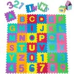 Tectake Puzzlematte 86 tlg bunt