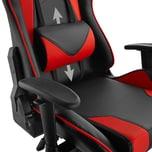 Tectake Premium Racing Bürostuhl Twink schwarz rot