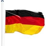 Tectake Aluminium Fahnenmast Deutschland
