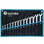 Tectake Schraubenschlüssel Set 14 tlg schwarz