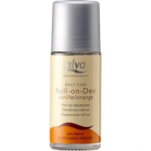 Alva Naturkosmetik Daily Care Roll On Deo Vanille Orange 50ml