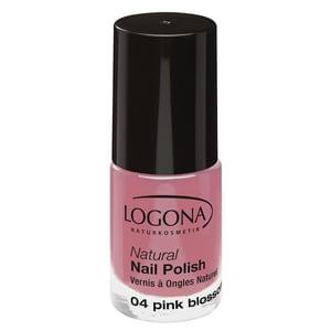 Logona Natural Nail Polish 04 Pink Blossom 4ml