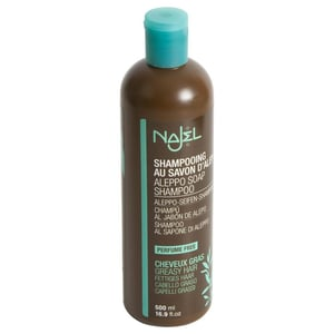 Najel Aleppo Seifen Shampoo fettiges Haar 500ml