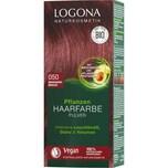 Logona Haarfarbe Pulver 050 Mahagoni Mahagoni Braun Braun 100g