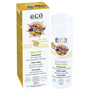 Eco Cosmetics Baby and Kids Sonnencreme LSF 50, 50ml