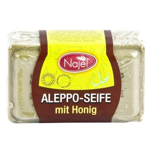 Najel Aleppo Seife Honig 100g