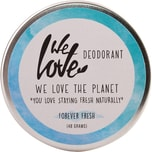 We love the planet Deo Creme Forever Fresh 48g