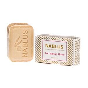 Nablus Soap Olivenseife Damaskus Rose 100g