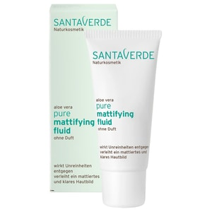 Santaverde Pure Mattifying Fluid ohne Duft 30ml