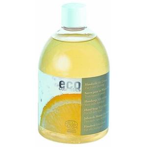 Eco Cosmetics Body Handseife Zitrone Nachfüllflasche 500ml