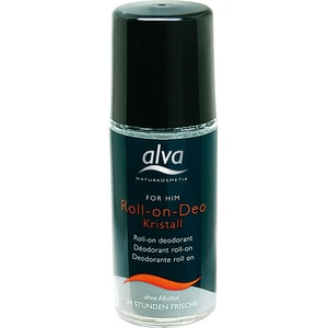 Alva Naturkosmetik For Him Kristall Deo Roll on 50ml