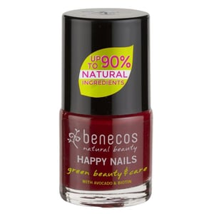 Benecos Nail Polish cherry red 9ml