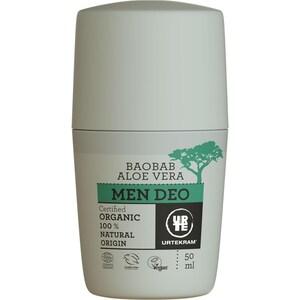 Urtekram Men Aloe Baobab Deo Roll On 50ml