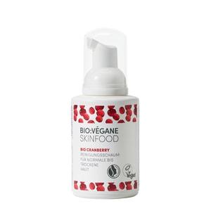 Bio Végane Skinfood Cranberry Reinigungsschaum 100ml