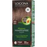 Logona Haarfarbe Pulver 080 Natur Natur Braun Braun 100g