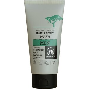 Urtekram Men Aloe Baobab Hair Body Wash 150ml
