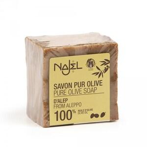 Najel Aleppo Seife 100% Olivenöl Olivenöl 200g