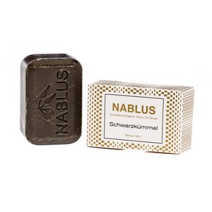 Nablus Soap Olivenseife Schwarzkümmel 100g