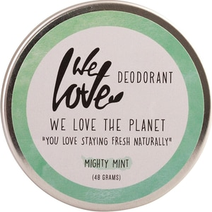 We love the planet Deo Creme Mighty Mint 48g