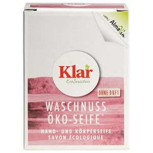 Almawin Klar Waschnuss Seife 100g
