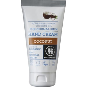 Urtekram Handcreme Kokos, 75 ml