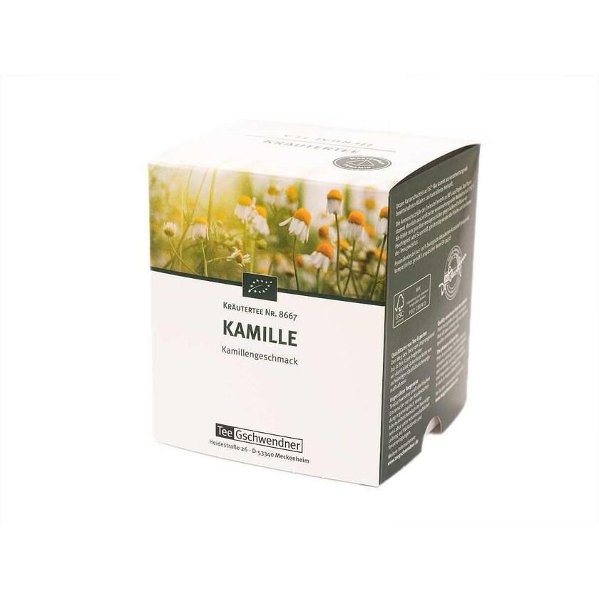 TeeGschwendner Kamille MasterBag Glas Pyramid Tee BIO 12st, 19g
