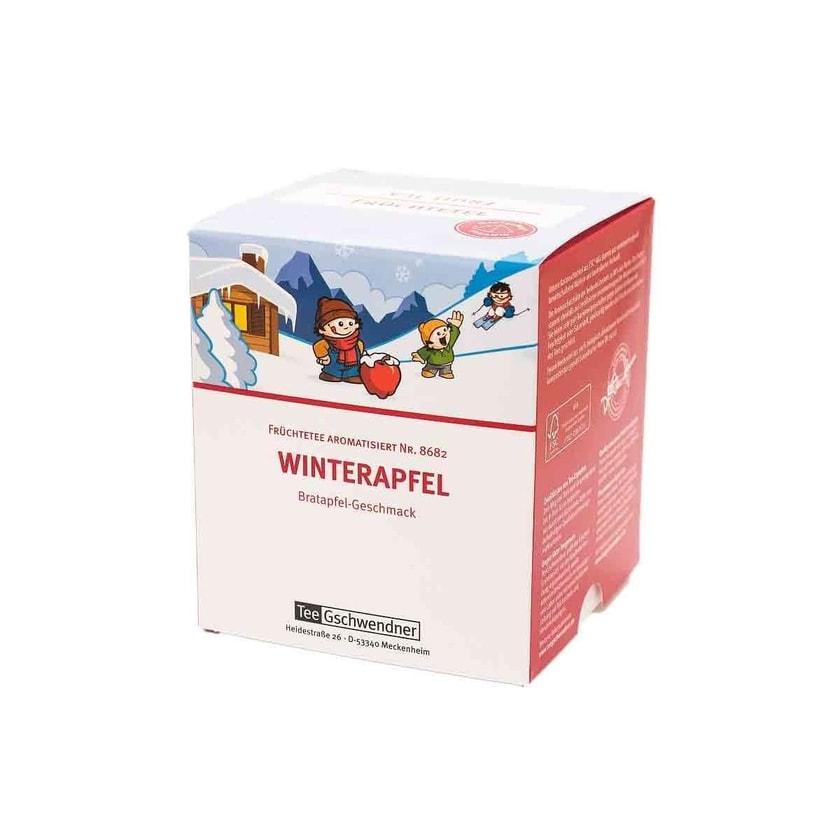 TeeGschwendner Winterapfel MasterBag Glas Pyramid Tee 15st, 63g