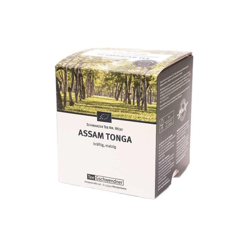 TeeGschwendner Assam Tonga MasterBag Glas Pyramid Tee BIO 15st, 30g