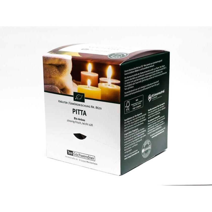 TeeGschwendner Pitta MasterBag Glas Pyramid Tee BIO 15st, 30g