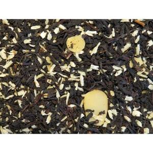 Schwarzer Tee Schneetreiben