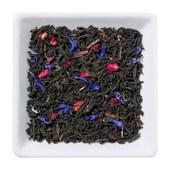 Schwarzer Tee Rote Grütze