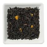 Schwarzer Tee Karamell