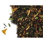 Schwarzer Tee Orangenplätzchen