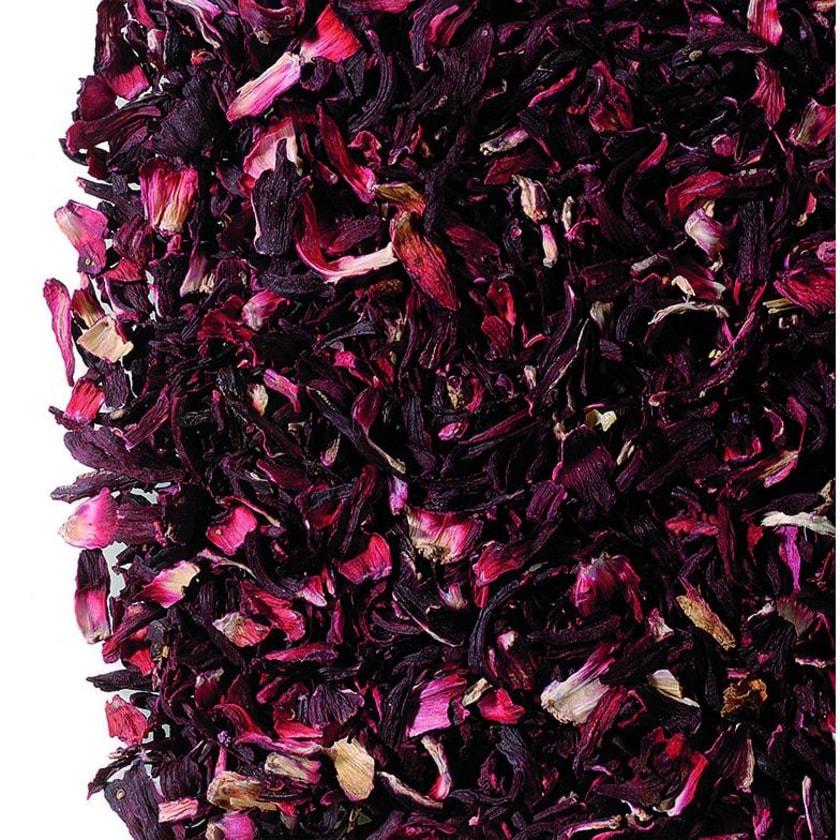 Hibiskusblüten geschnitten