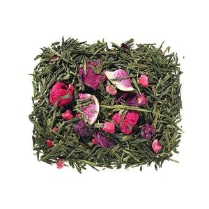 Grüner Tee Sencha Feige Beere