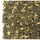 Grüner Tee Sencha Pfirsich aromatisiert