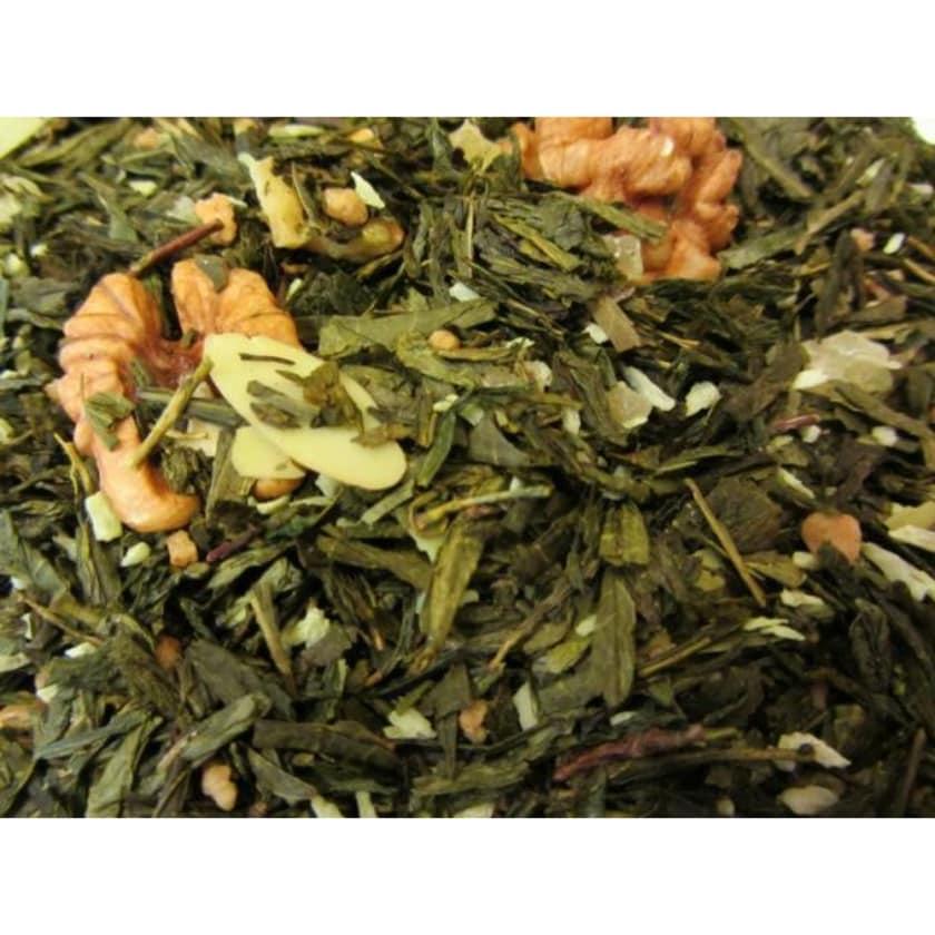 Grüner Tee Sencha Walnuss