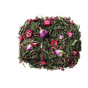 Grüner Tee Sencha Cranberry Rose