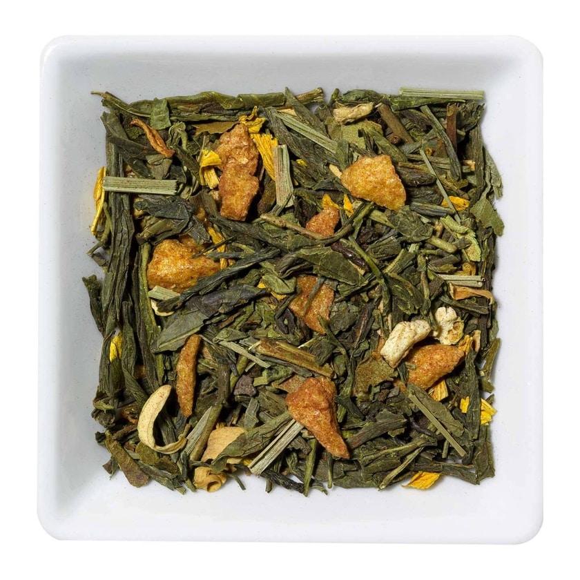 Grüner Tee Orange Ingwer