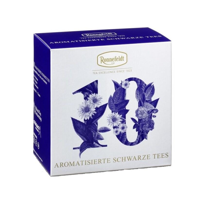 Ronnefeldt Tee Probierbox Aromatisierte Schwarze Tees 10x3,9g