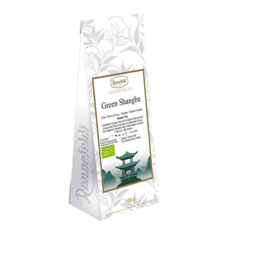 Ronnefeldt Tee Green Shangba Bio 100g