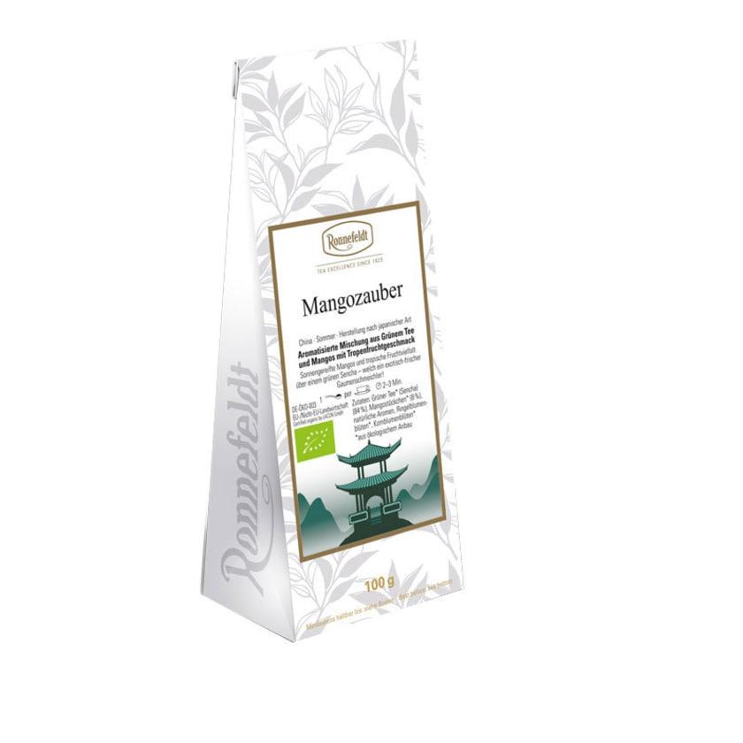 Ronnefeldt Tee Mangozauber Bio aromatisierter grüner Tee 100g
