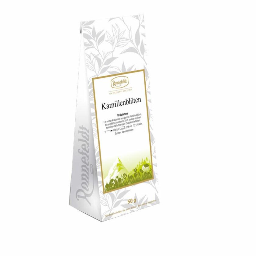 Ronnefeldt Tee Kamillenblüten (ganze Blüten) Kräutertee 50g