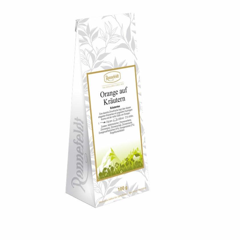 Ronnefeldt Tee Orange auf Kräutern Kräuterteteemischung 100g