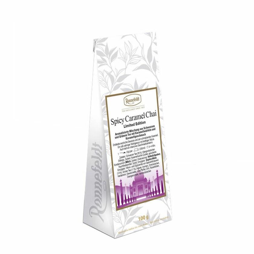 Ronnefeldt Tee Spicy Caramel Chai aromatisierter Gewürztee 100g