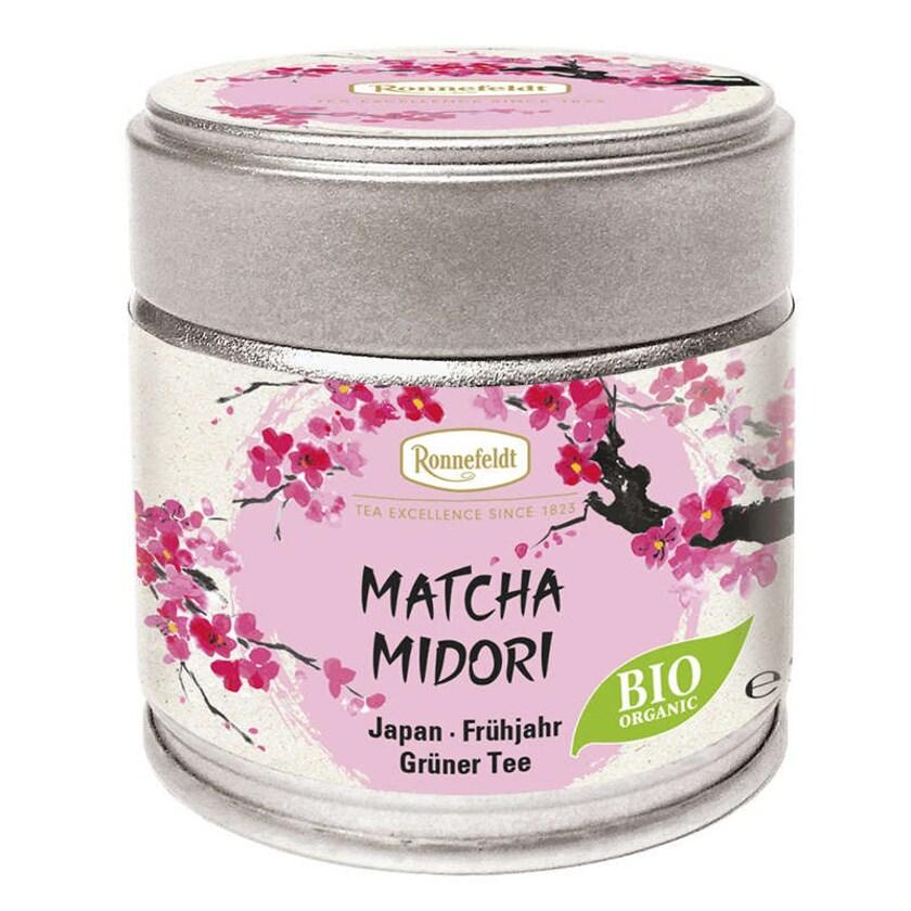 Ronnefeldt Tee Matcha Midori (Hikari) Bio grünes Teepulver aus Japan 30g