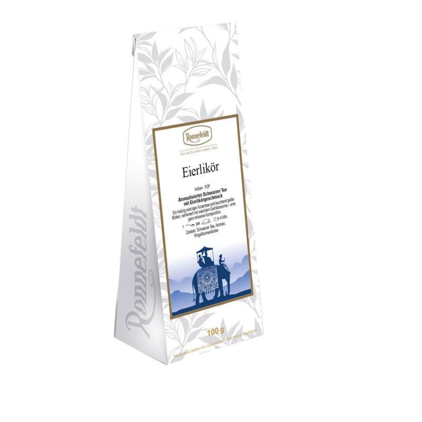Ronnefeldt Tee Eierlikör aromatisierter schwarzer Tee 100g