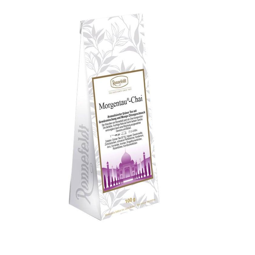 Ronnefeldt Tee Morgentau-Chai aromat. grüner Chai Tee 100g