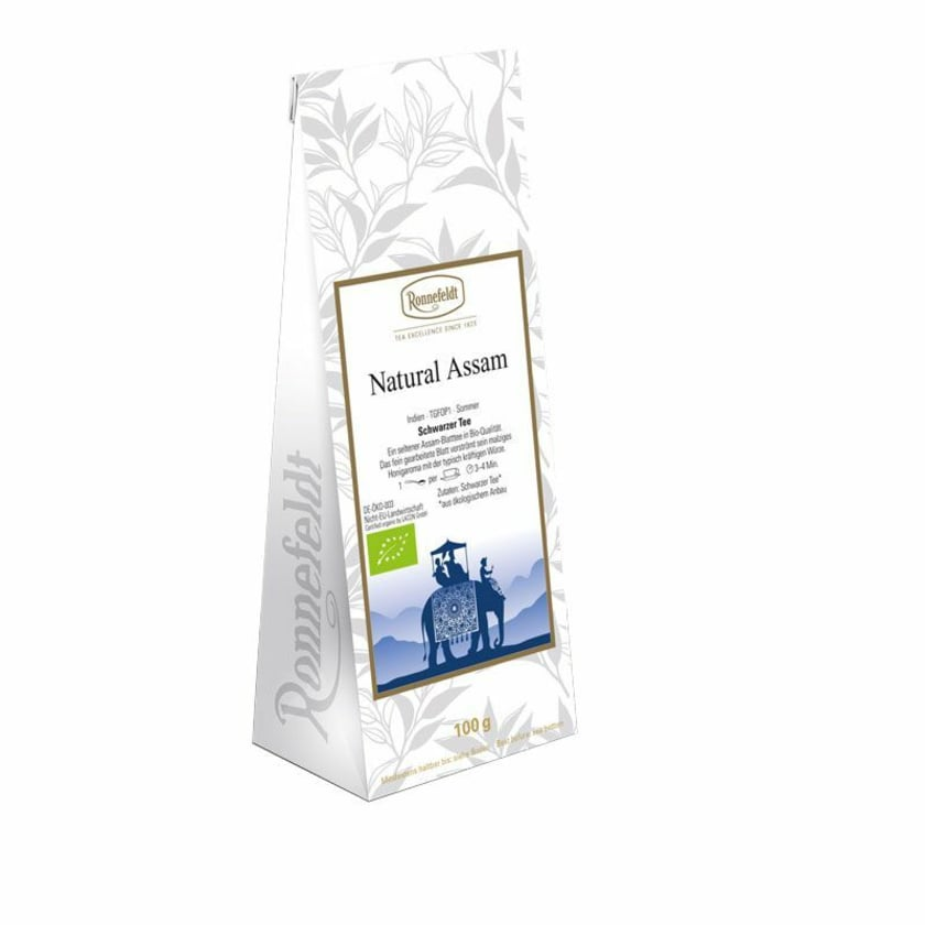 Ronnefeldt Tee Natural Assam Bio schwarzer Tee 100g